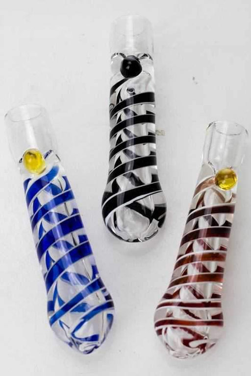 "3"" soft glass 3494 one hitter - bongoutlet.com"