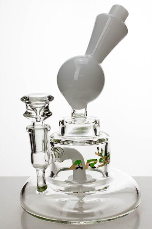 "7"" arsenal shower head diffused bubbler - bongoutlet.com"