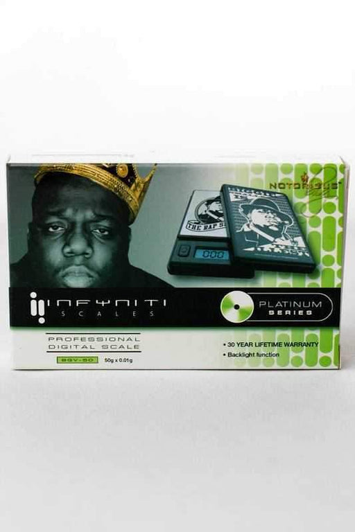 Notorious BIG BGV-50 scale - bongoutlet.com