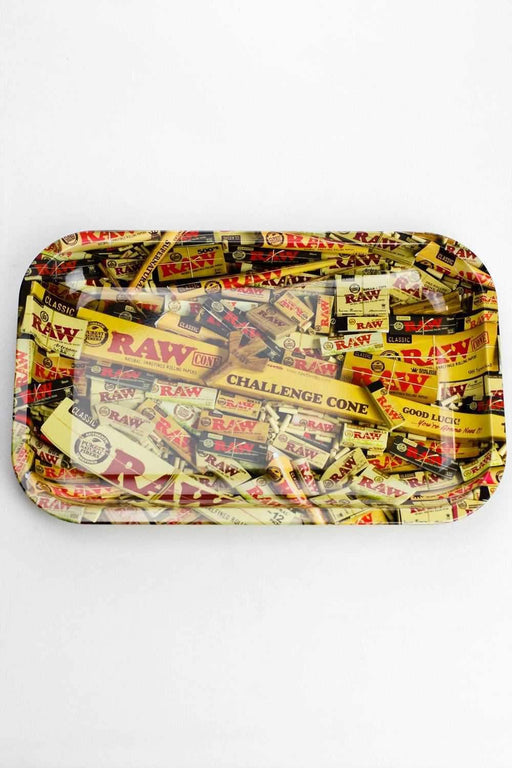 Raw Rolling tray all over print - bongoutlet.com