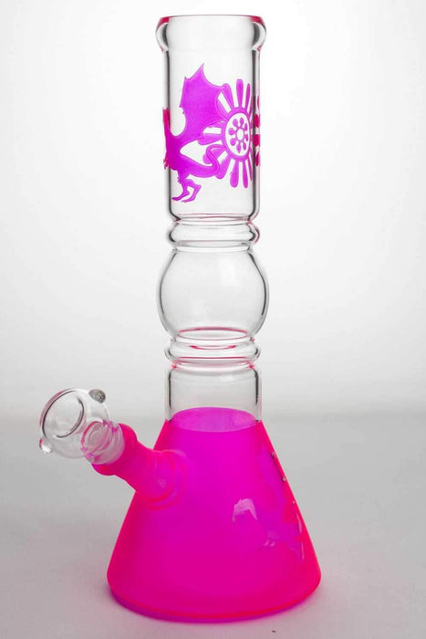 "12"" color coated glass water bong - bongoutlet.com"