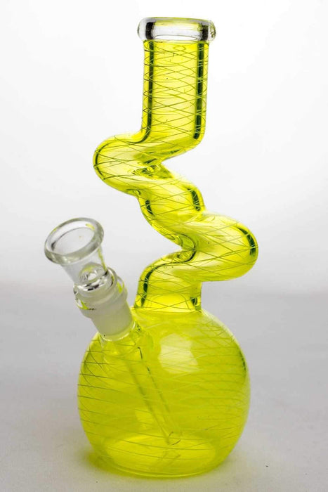 8 in. kink zong water pipe - bongoutlet.com