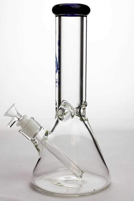 12 inches genie 9 mm Classic beaker glass water bong - bongoutlet.com
