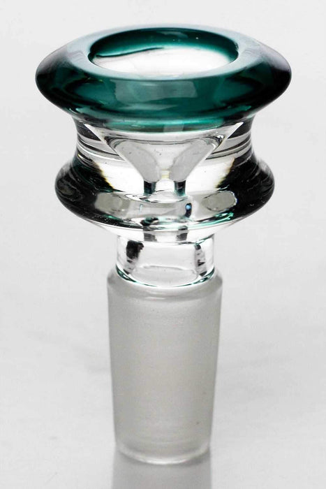 Color accented glass bowl - bongoutlet.com