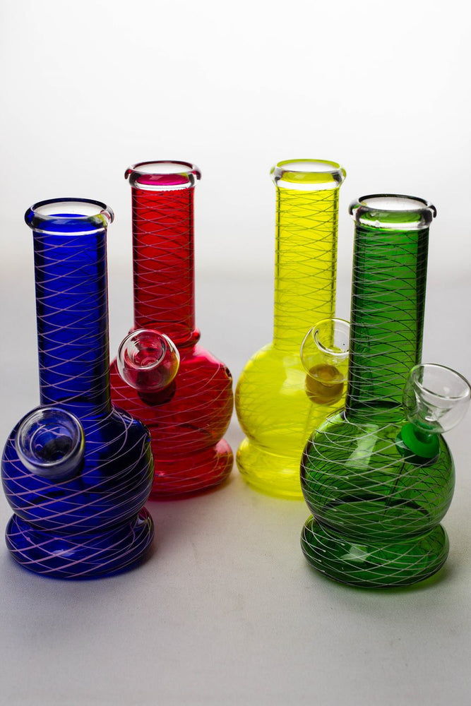 6 inches glass water bong - bongoutlet.com