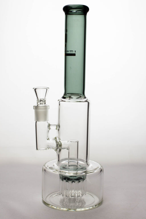 "14"" Infyniti 12-arm percolator glass water bong - bongoutlet.com"