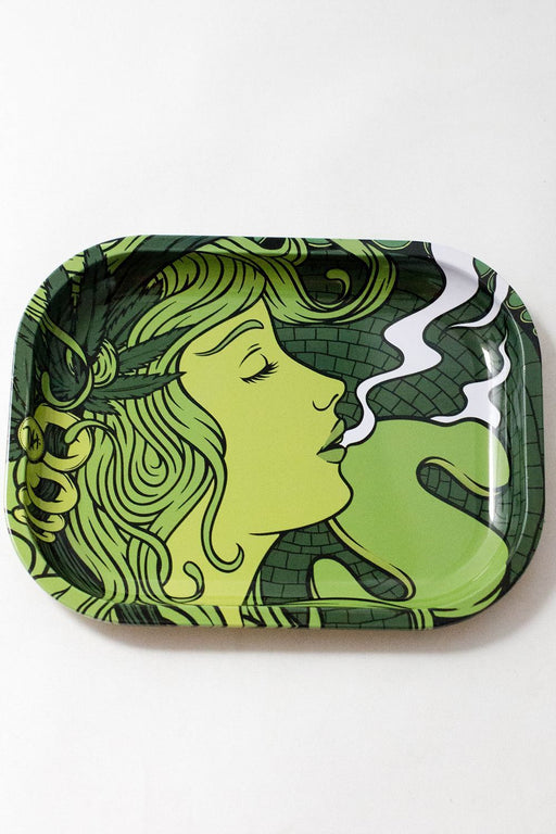 Smoke Arsenal Rolling mini Tray - bongoutlet.com