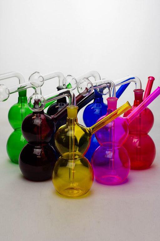 "7"" Oil burner water pipe Type A - bongoutlet.com"