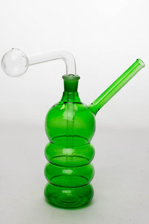 "7"" Oil burner water pipe Type B - bongoutlet.com"