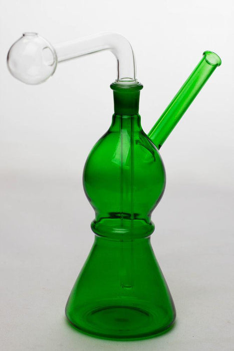 "7"" Oil burner water pipe Type C - bongoutlet.com"