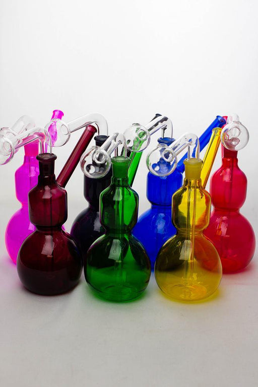 "7"" Oil burner water pipe Type E - bongoutlet.com"