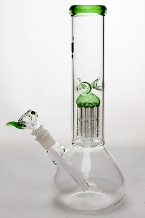 "12"" infyniti 8 tree arms percolator water bong - bongoutlet.com"