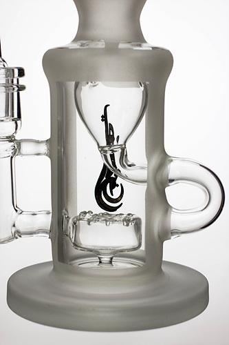 9 in. genie recycled bubbler with a banger - bongoutlet.com