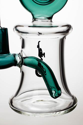 7.5 in. genie bubbler with a banger - bongoutlet.com