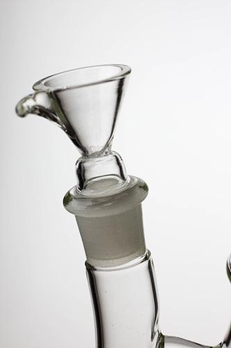 "10"" infyniti Round base bubbler with honeycomb diffuser - bongoutlet.com"