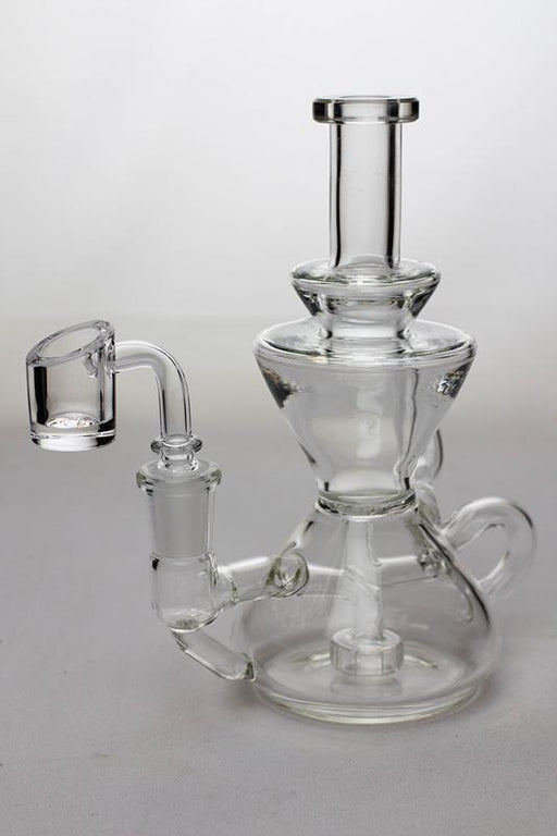 6.5 in. tea pot shape recycled rig - bongoutlet.com