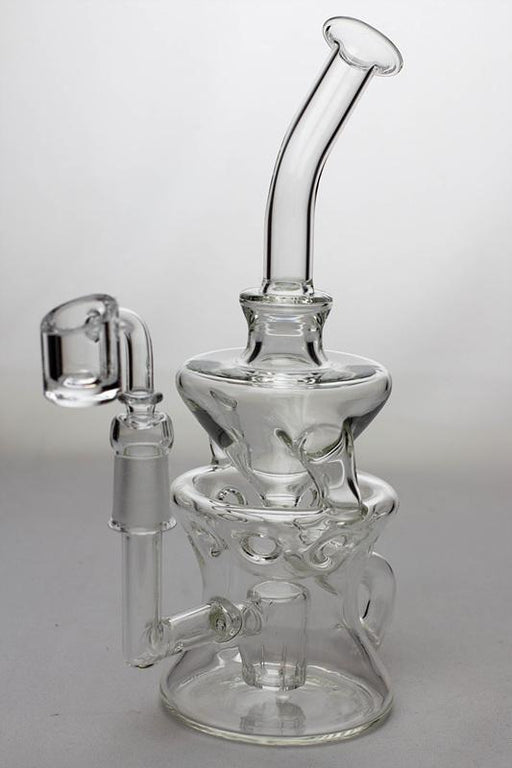 "9"" water recycled rig - bongoutlet.com"