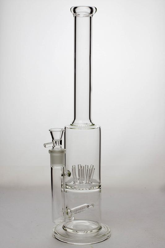 "15.5"" inline and stem diffuser water bong - bongoutlet.com"