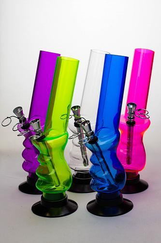 "10"" acrylic water pipe - bongoutlet.com"
