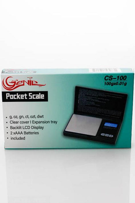 Genie  CS-100 pocket scale - bongoutlet.com