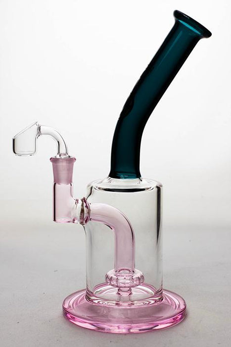 "10"" Genie two tone rig with a shower head diffuser - bongoutlet.com"