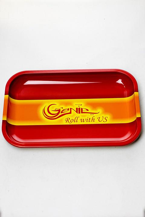Genie Rolling Tray - bongoutlet.com