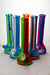 "13"" Genie mixed color Silicone detachable beaker water bong - bongoutlet.com"