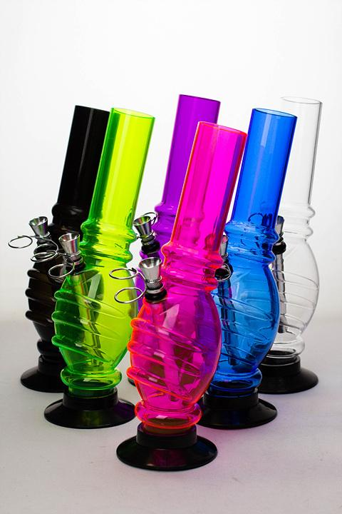 "10"" acrylic water pipe-MA06 - bongoutlet.com"