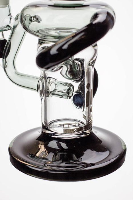 "9"" Infyniti swirl recycled rig - bongoutlet.com"