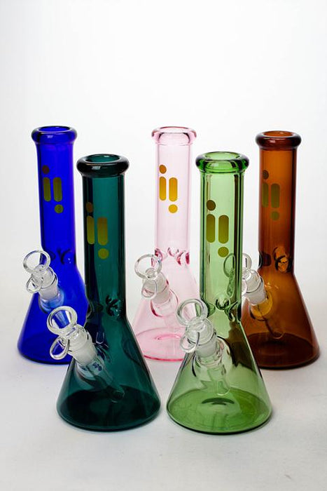 "10"" Infyniti color tube glass water bong - bongoutlet.com"