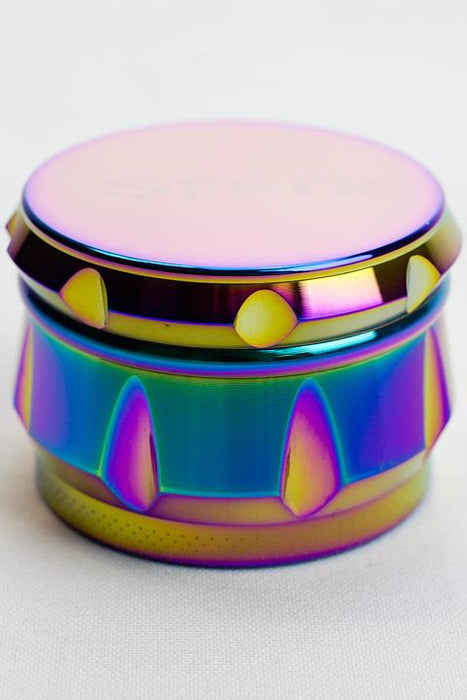 Spark 4 parts rainbow color herb grinder