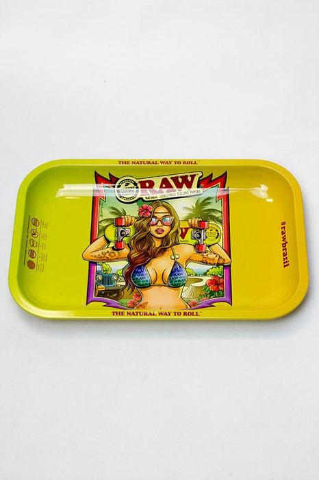Raw Small size Rolling tray