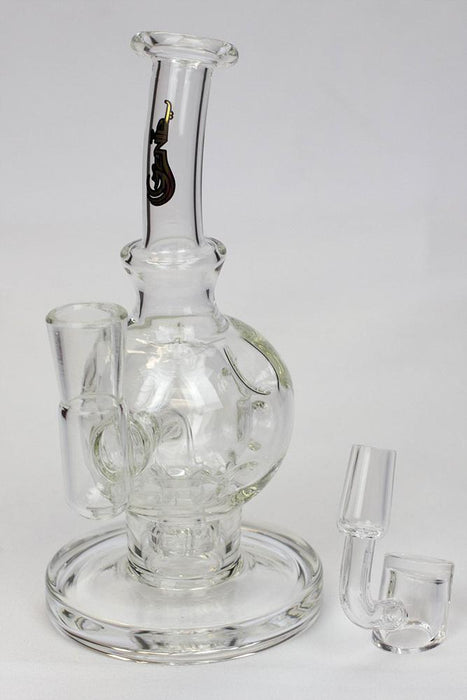 "6"" Sphere recycle rig with shower head diffuser"