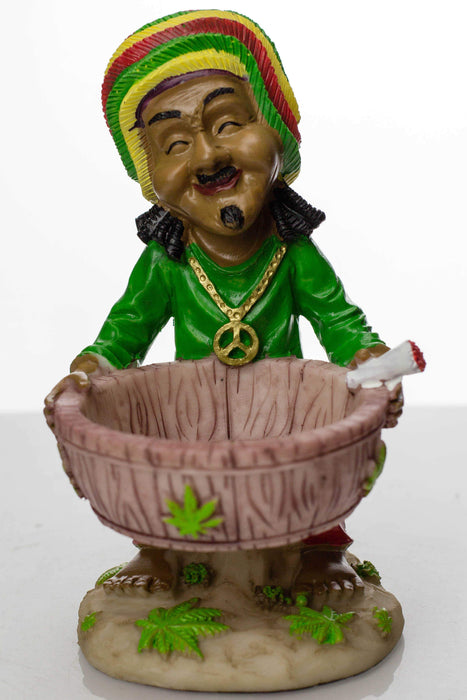 Funny man Resin ashtray - bongoutlet.com