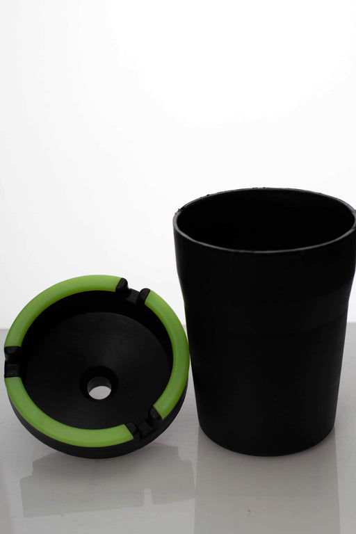 Luminous Butt Bucket Extinguishing Ashtray Glow In the Dark - bongoutlet.com