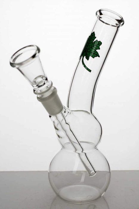 "7"" glass water bong with bowl stem - Bong Outlet.Com"