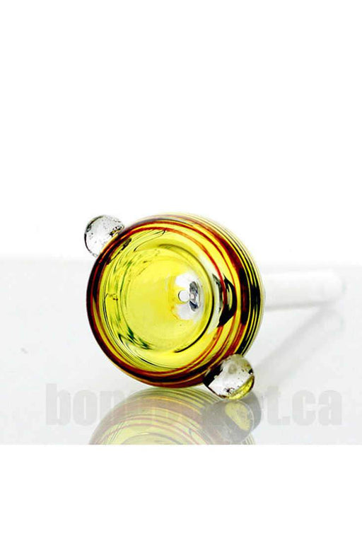 Glass bowl slide Type B for 9 mm female joint - bongoutlet.com