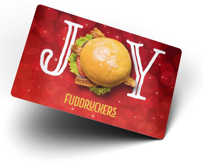 Fuddruckers Gift Card - Holiday Joy