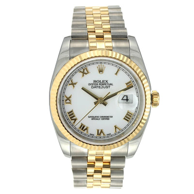 Rolex Oyster Perpetual Datejust Steel and Yellow Gold 36MM 16233