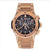 18K Rose Gold Hublot Classic Fusion Aero King 525.OX.0180.OX 45mm Black Dial