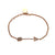 18K Rose Gold Arrow Shaped  Women Bracelet