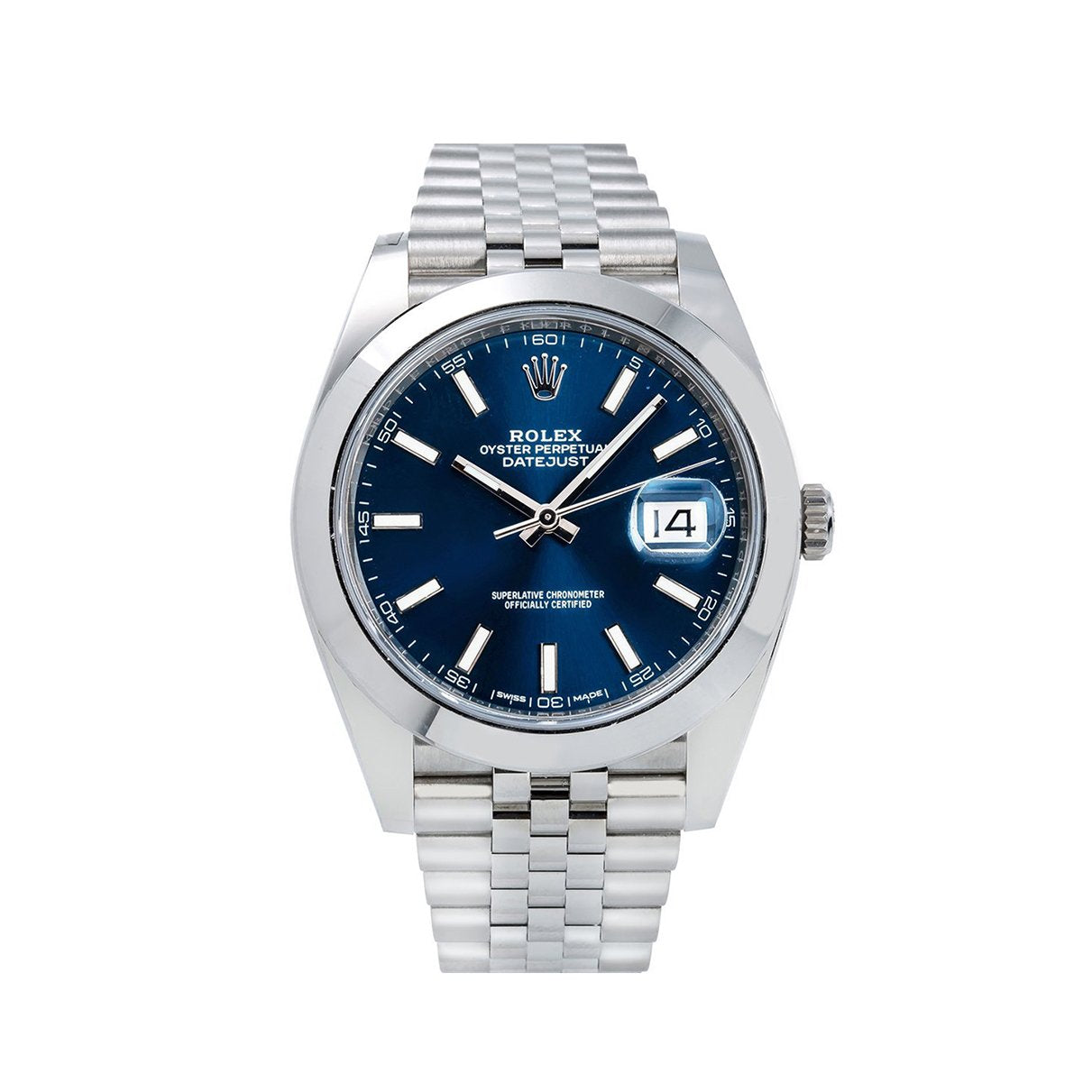 Rolex Datejust 126300 41MM Blue Dial With Stainless Steel Bracelet