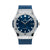 Hublot Classic Fusion Blue 511.NX.7170.LR  45MM Blue Dial With Leather Bracelet