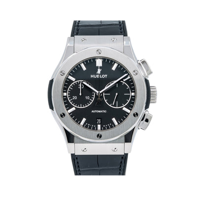 Hublot Classic Fusion Chronograph 521.NO.1181.LR 45mm Black Dial