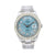 Rolex Datejust II Diamond Watch, 116300 41mm, Blue Diamond Dial With Stainless Steel Bracelet