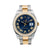 Rolex Datejust II Diamond Watch, 116333 41mm, Blue Diamond Dial With Two Tone Oyster Bracelet