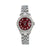 Rolex Lady-Datejust Diamond Watch, 6917 26mm, Red Custom Diamond Dial With 1.3 CT Diamonds