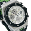 Audemars Piguet Royal Oak Offshore Chronograph 25940SK 40MM White Dial With Rubber Bracelet