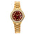Rolex Oyster Perpetual Lady Date 6517 26MM Red Diamond Dial With 0.95 CT Diamonds