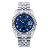 Rolex Datejust 116200 36MM Blue Diamond Dial With 1.20 CT Diamonds